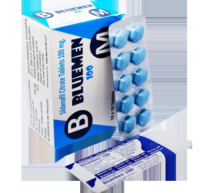 Bluemen 100 (Sildenafil citrate 100mg)