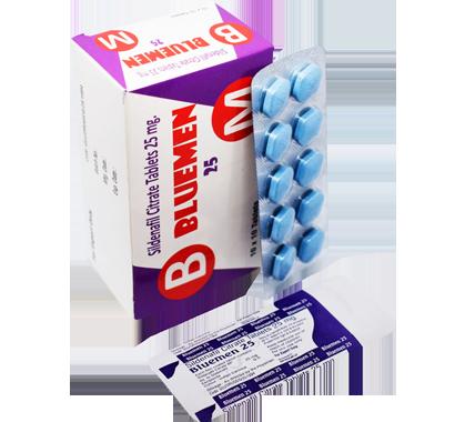 Bluemen 25 (Sildenafil 25mg)